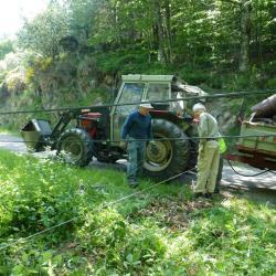 17-Treuil + tracteur, ça aide!
